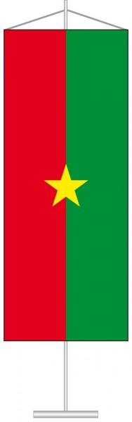 Burkina Faso als Tischbanner
