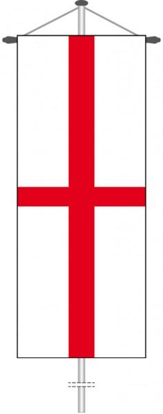 England als Bannerfahne