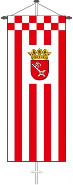 Bremen - Dienstflagge als Bannerfahne