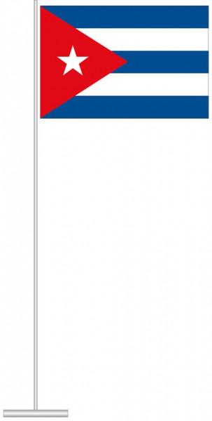 Kuba als Tischfahne