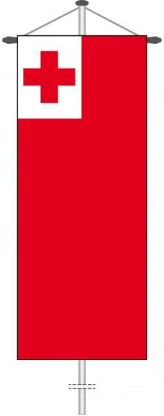 Tonga als Bannerfahne
