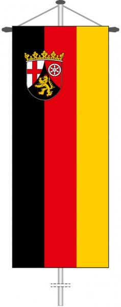 Rheinland-Pfalz - Bürgerflagge als Bannerfahne