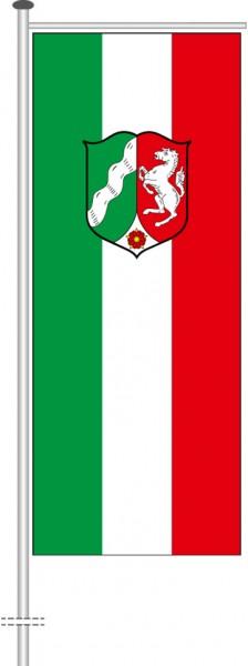 Nordrhein-Westfalen - Dienstflagge als Auslegerfahne