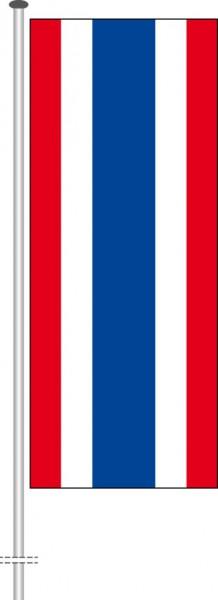 Thailand als Hochformatfahne