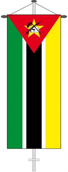 Mosambik als Bannerfahne
