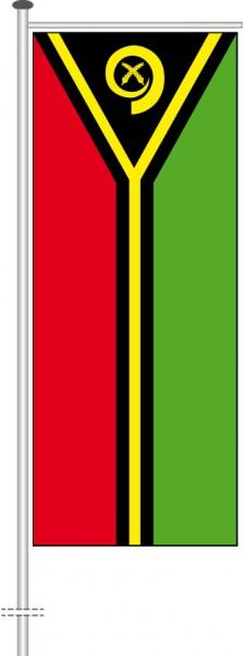 Vanuatu als Auslegerfahne