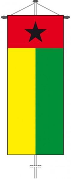 Guinea-Bissau als Bannerfahne
