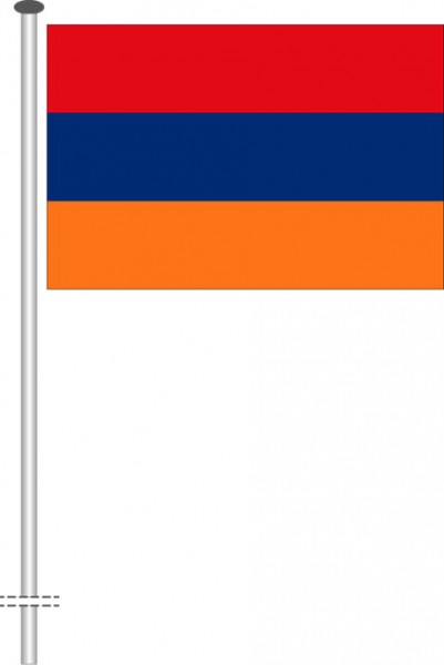 Armenien als Querformatfahne