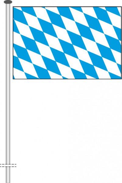 Bayern - Raute als Querformatfahne