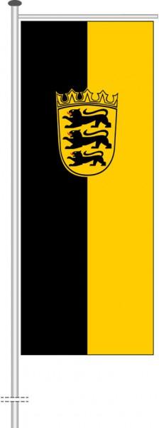 Baden-Würtemberg - Dienstflagge als Auslegerfahne