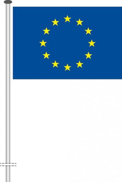 Europarat als Querformatfahne